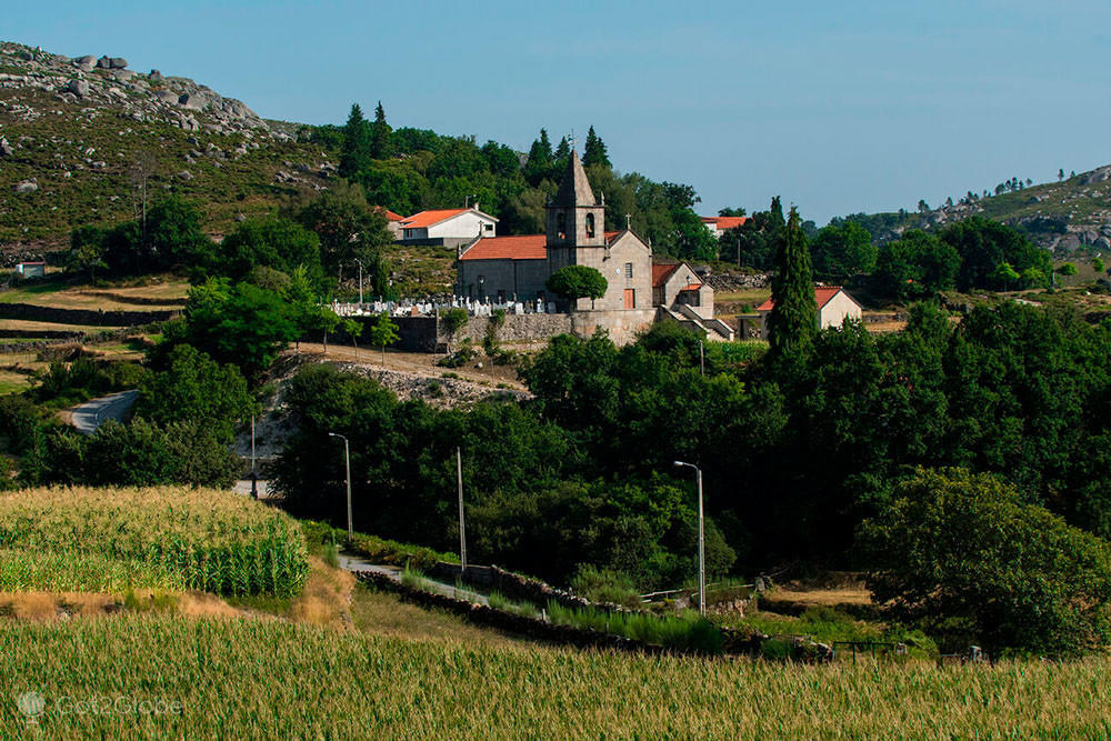 Igreja de Santa Isabel do Monte, Terras de Bouro, Portugal