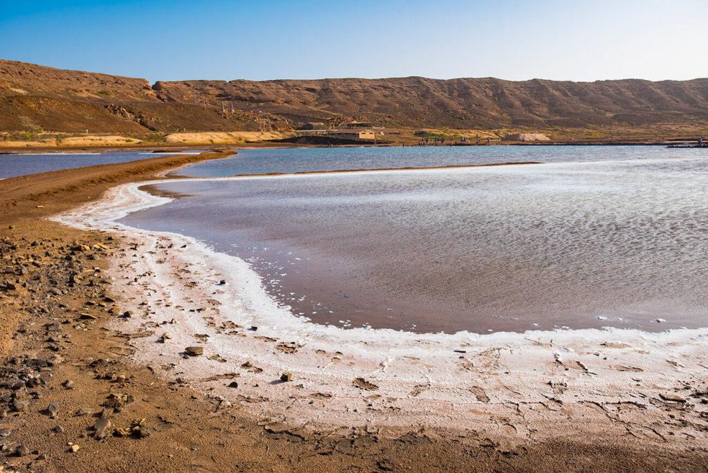Salinas de Pedra de Lume, ilha do Sal, Cabo Verde