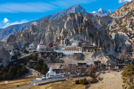 Mosteiro de Braga, Braka, Circuito Annapurna, Nepal