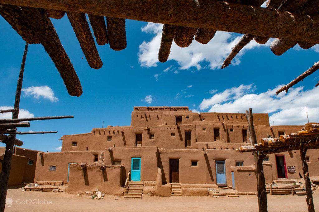 Taos Pueblo, Novo México, E.U.A.