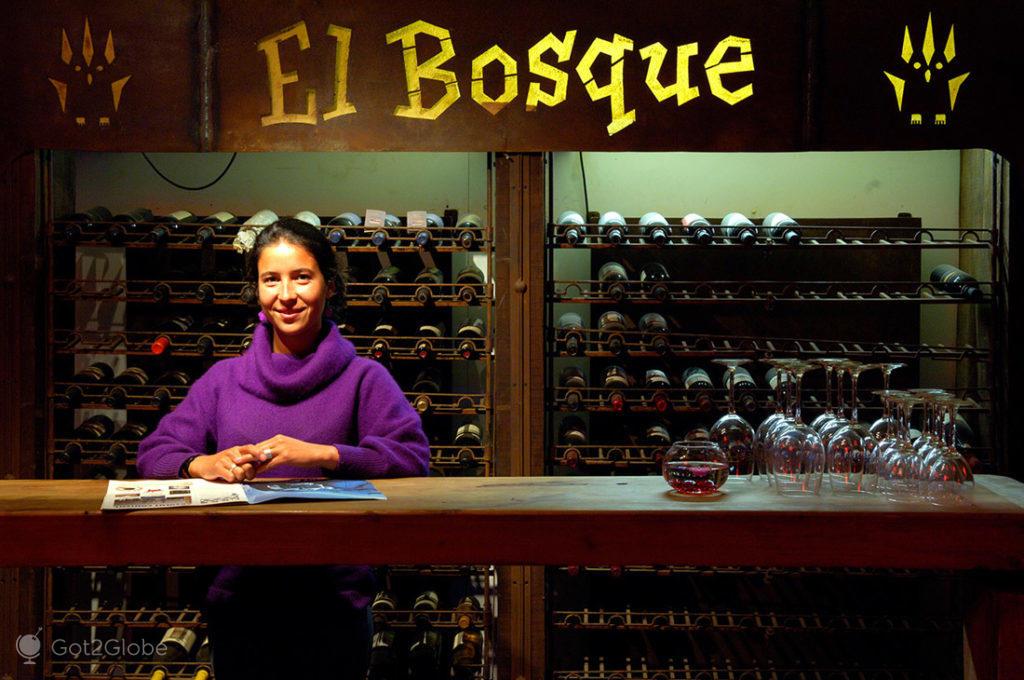 Funcionária do bar El Bosque, em Pucón, La Araucania, Chile