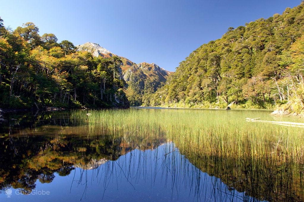 Lago Tinquilco no PN Huerquehue, La Araucania, Chile