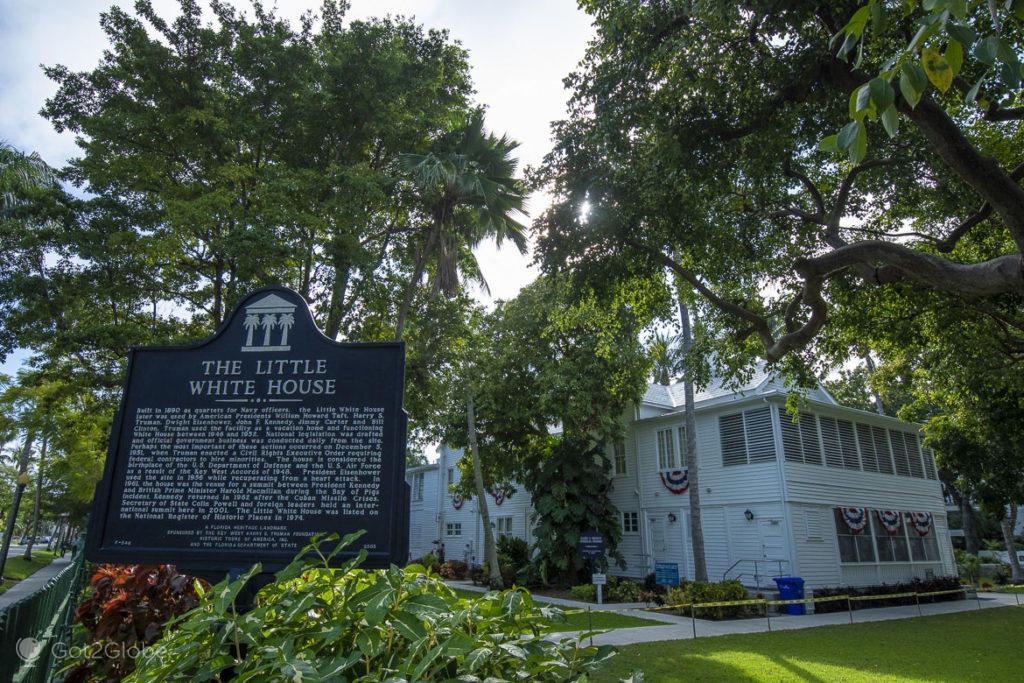 Little White House, Key West, Flórida Keys, Estados Unidos