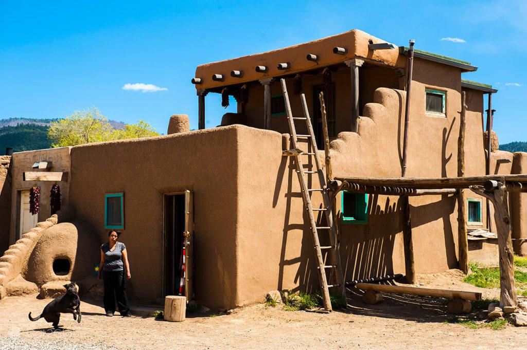 Vida no Taos Pueblo, Novo México, E.U.A.