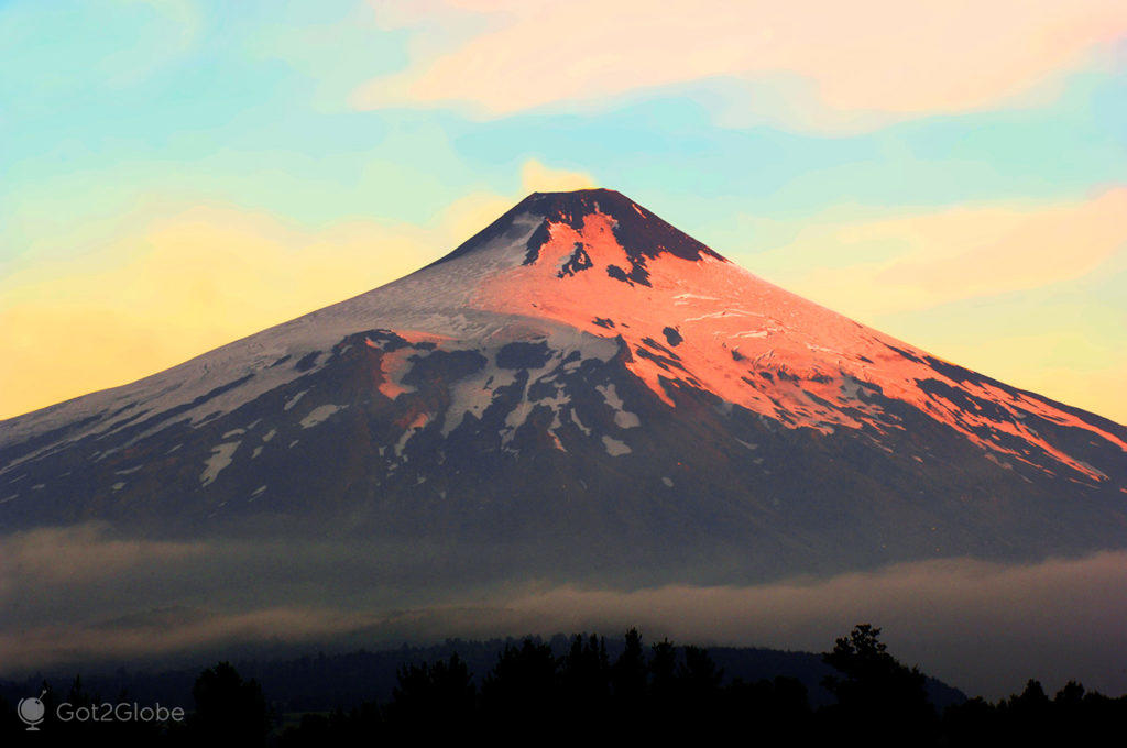 Vulcão Villarrica, La Araucania,
