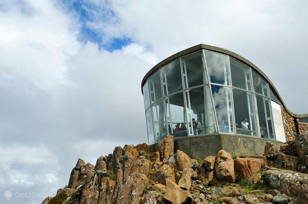 Edifício do miradouro do Monte Wellington