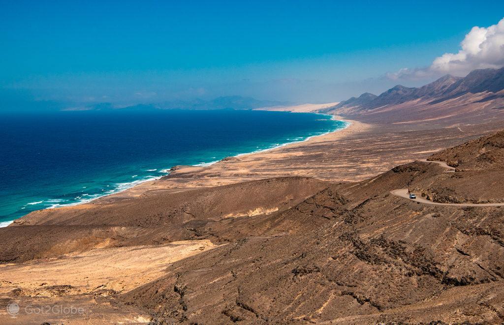 Praia Cofete, Fuerteventura, ilhas Canárias, Espanha