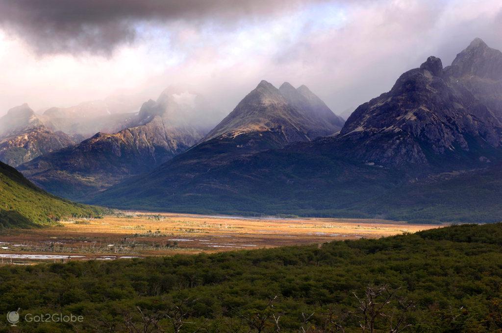 Cordilheira Martial, Tierra del Fuego, Argentina