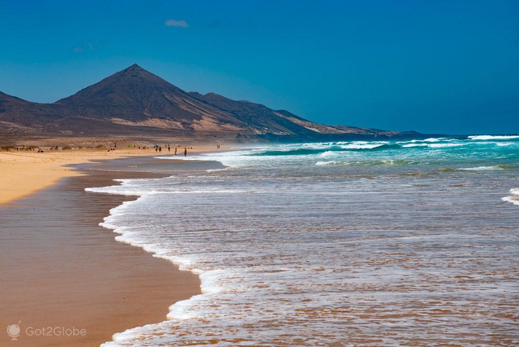 Playa Cofete, Fuerteventura, ilhas Canárias, Espanha