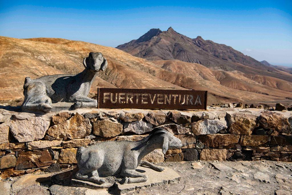 Obra de arte no observatório espacial Sicasumbre, Fuerteventura, ilhas Canárias, Espanha