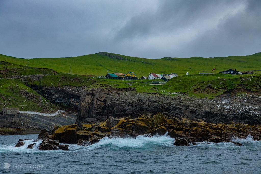 Povoado de Mykines, Ilhas Faroé
