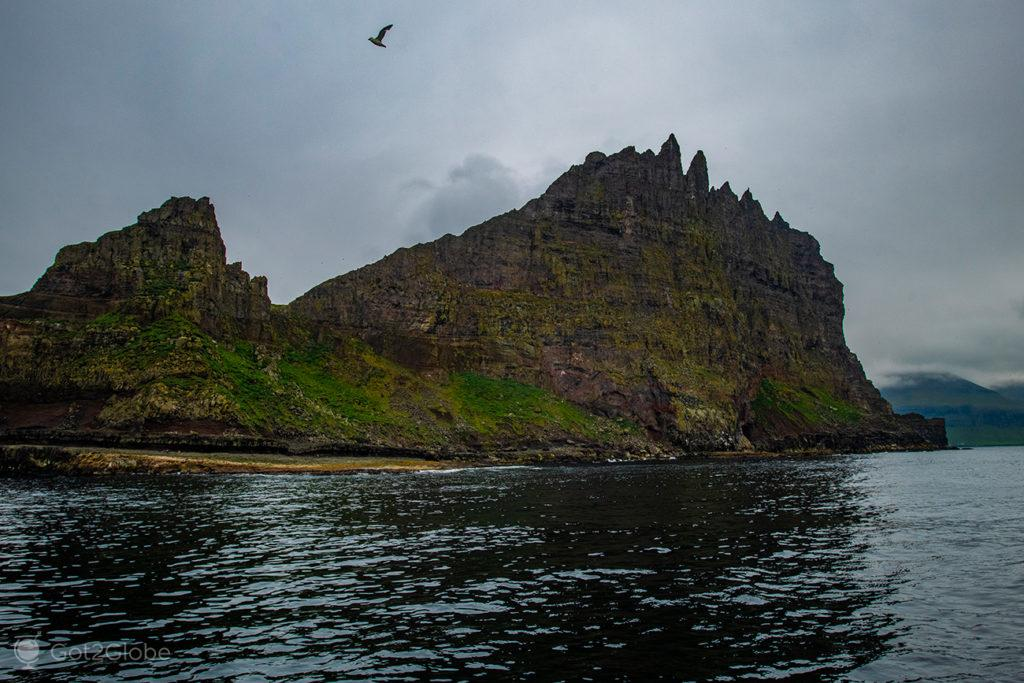 Ilhéu de Tindhólmur, Ilhas Faroé
