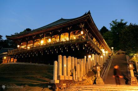 Templo Nigatsu, Nara, Japão