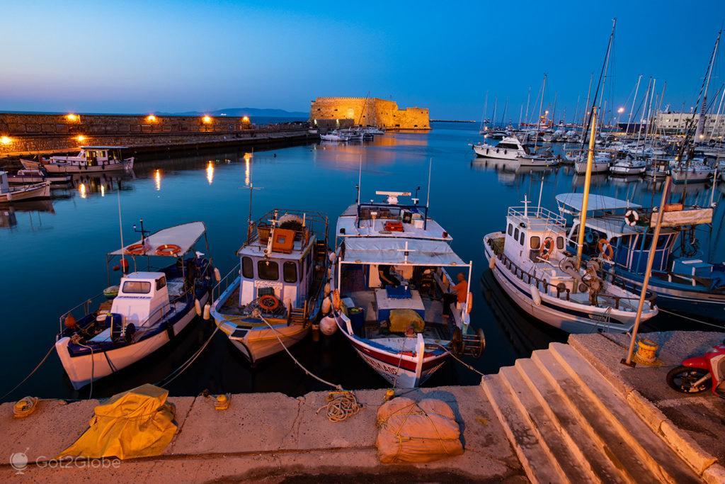 Porto de Iraklio, Creta, Grécia