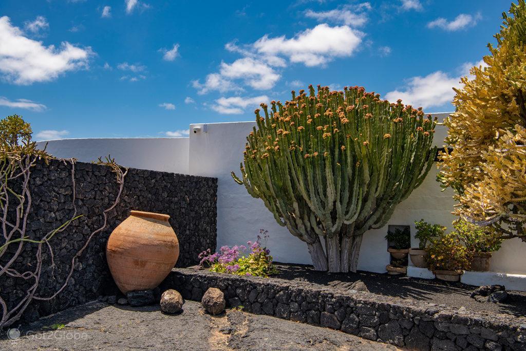 Recanto da Fundação César Manrique, Lanzarote, Canárias, Espanha