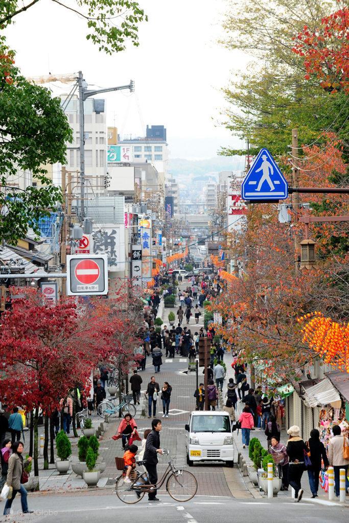 Rua Sanjo-dori, Nara, Japão