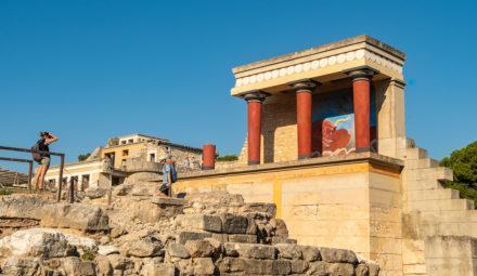 Palácio de Cnossos, Creta, Grécia