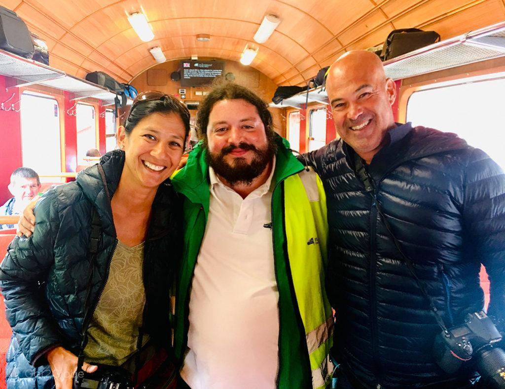 Sara Wong, Marco C. Pereira & João Carvalho, Flam Railway, Noruega