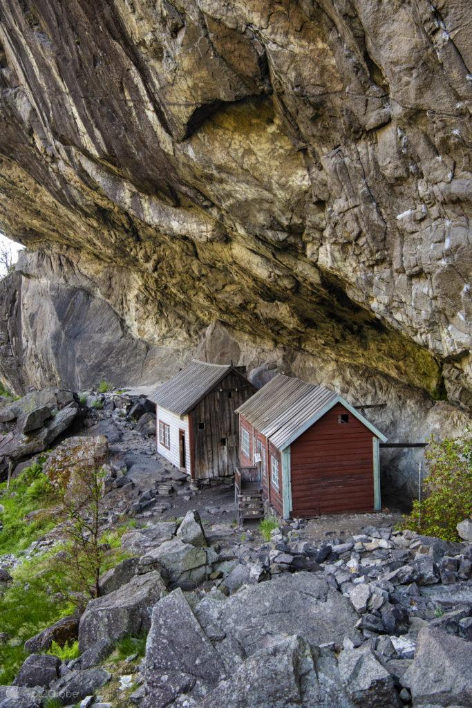 Casas de Helleren, Jossingfjord, Magma Geopark, Norugega