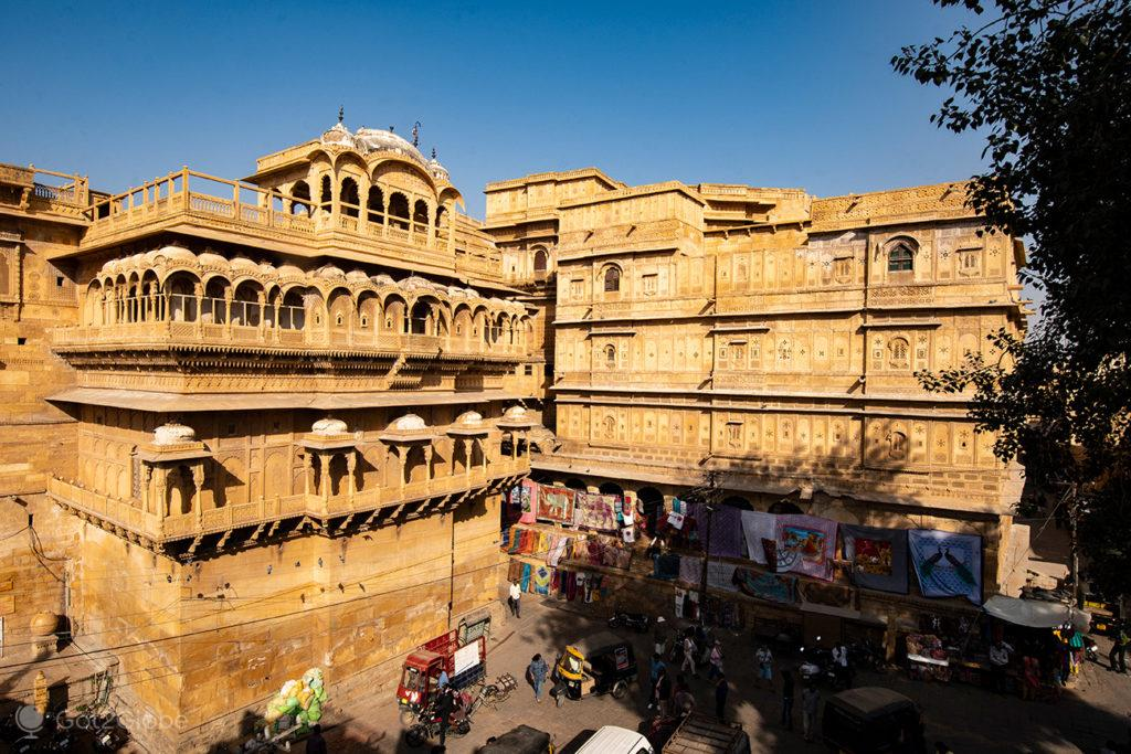 Praça Dushera Chowk, Jaisalmer, Índia