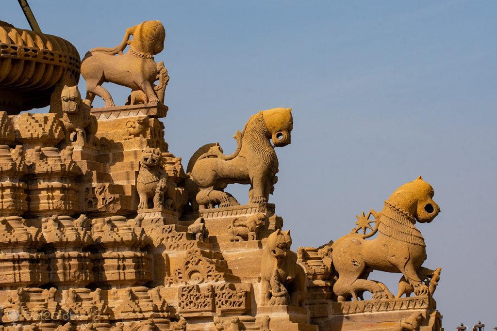 Templo jainista de Jaisalmer, Rajastão, India