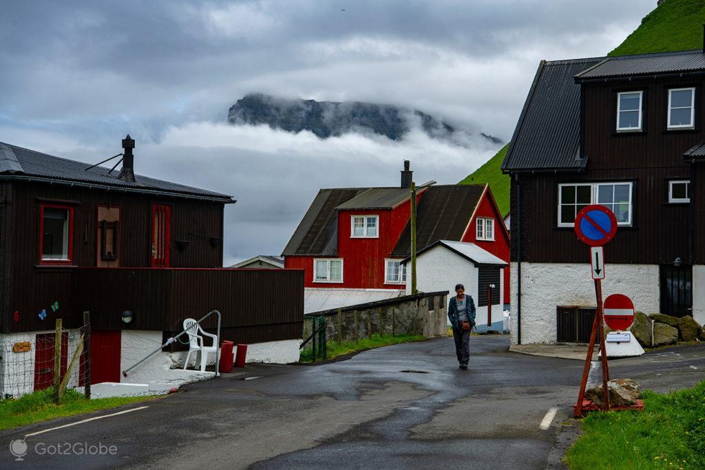 Trollanes, Kalsoy, Ilhas Faroé