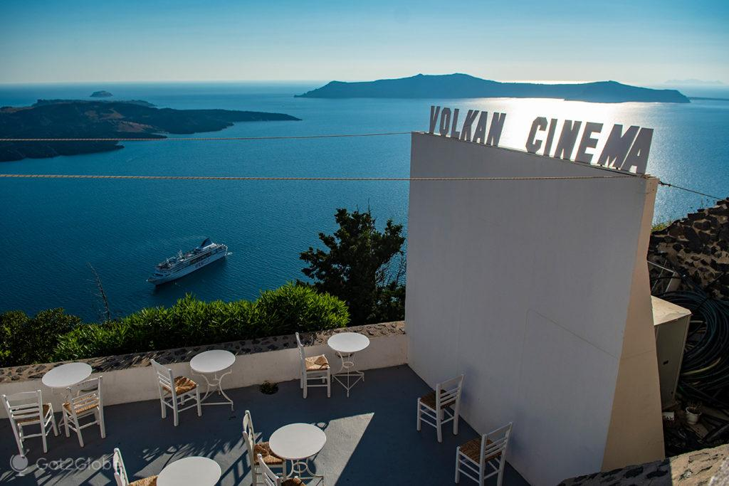 Volkan Cinema, Thira, Santorini, Grécia