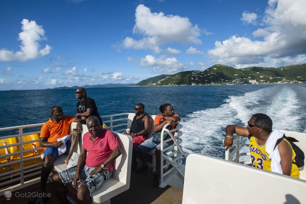 Passageiros Sensation Ferry-Ilhas Virgens Britânicas