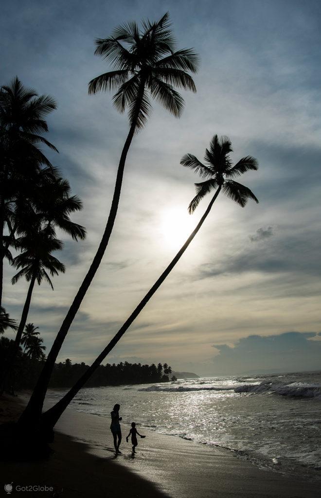 Praia de Las Terrenas, Península de Samaná, República Dominicana