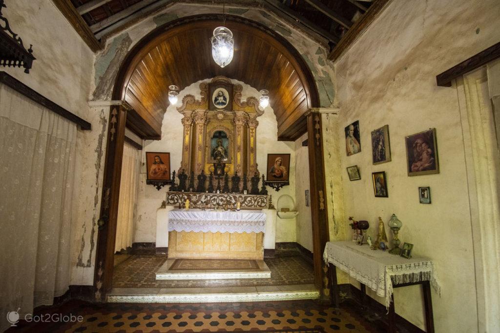 Capela, Casa Menezes Bragança, Chandor, Goa, India