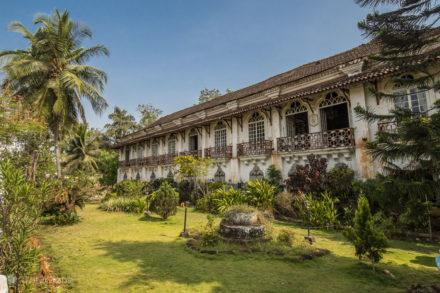Casa Menezes Bragança, Chandor, Goa, India