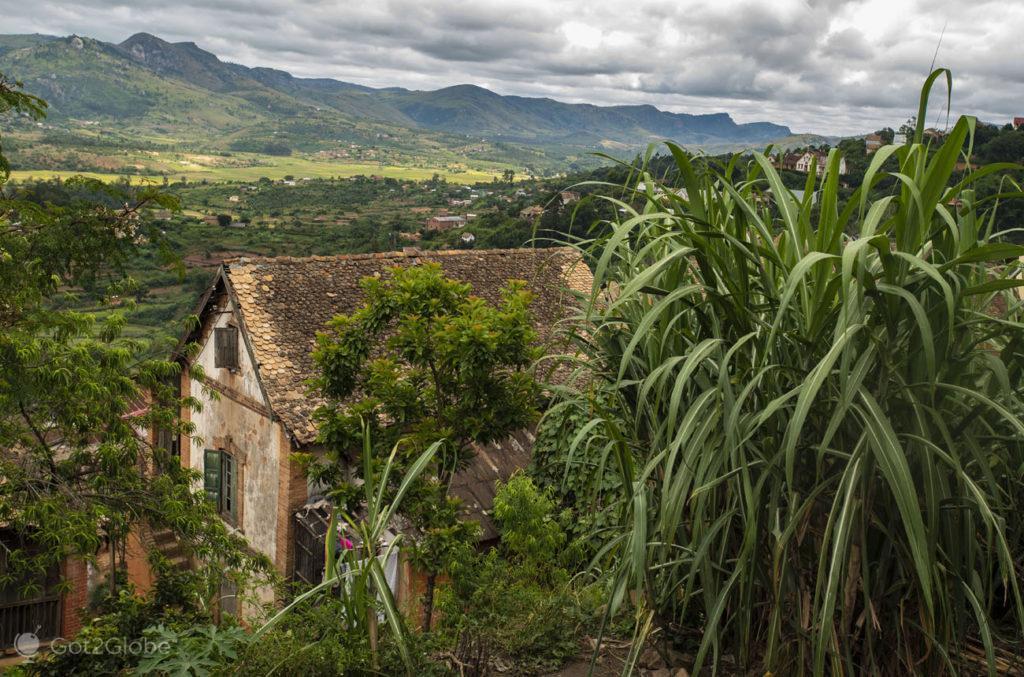 Casa típica, Fianarantsoa, Madagascar