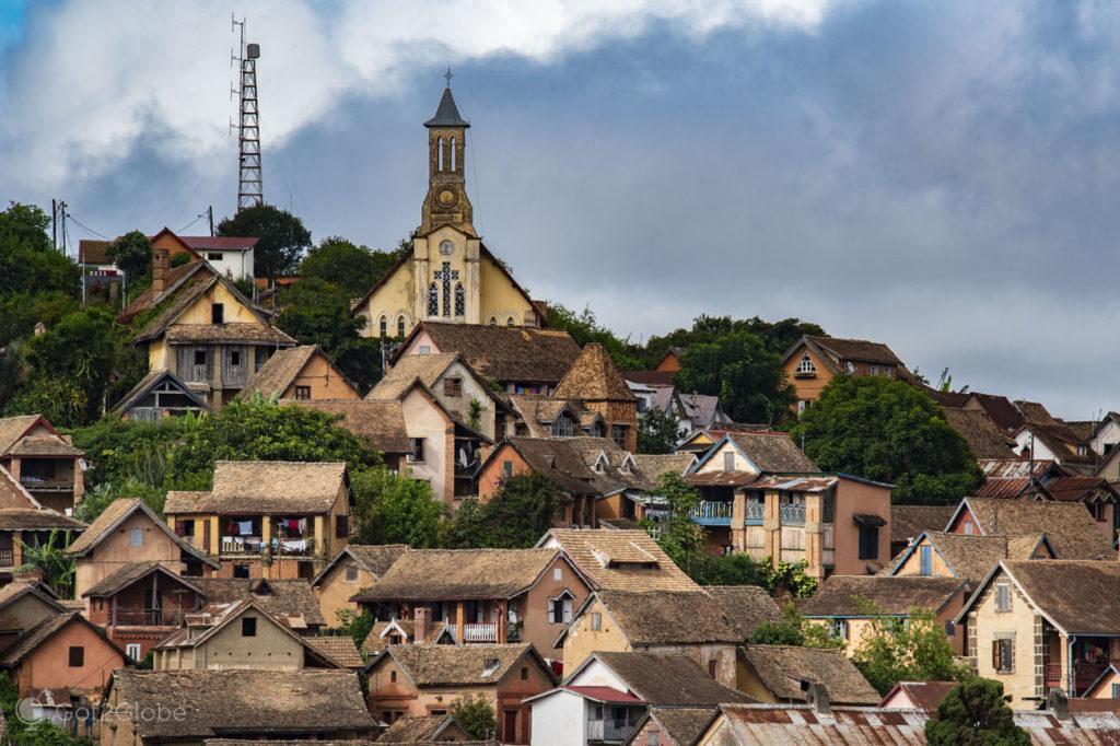 Casario, cidade alta, Fianarantsoa, Madagascar