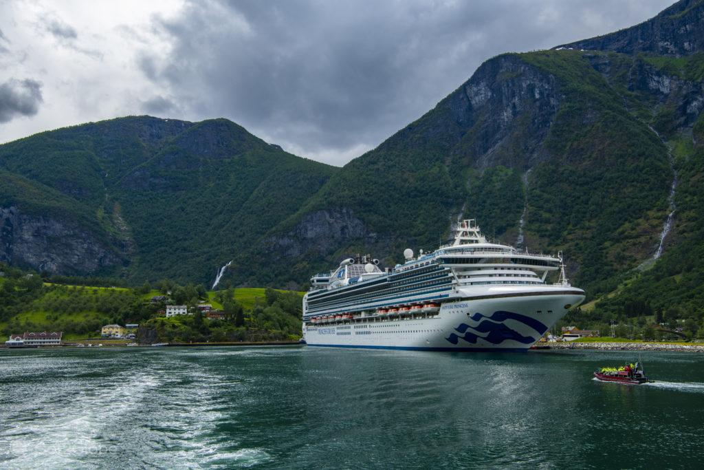Cruzeiro, Flam, Aurlandfjord, Noruega