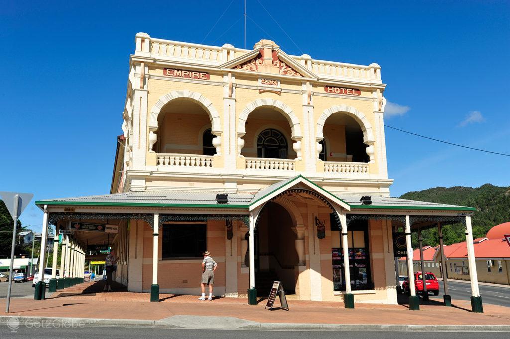 Empire Hotel, Queenstown, Tasmania, Austrália