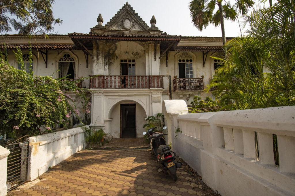 Casa Menezes Bragança, Chandor, Goa, India