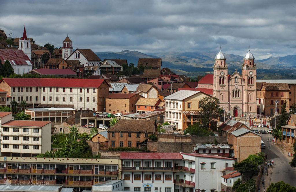 Cidade alta, Fianarantsoa, Madagáscar