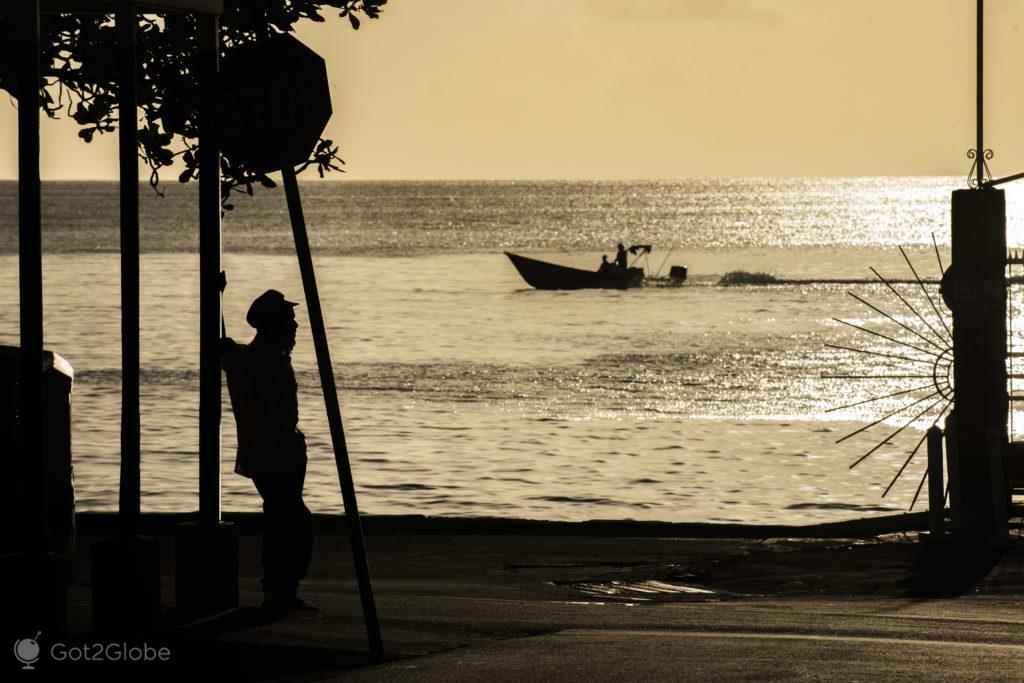 Ocaso prateado-Soufrière-Saint Lucia