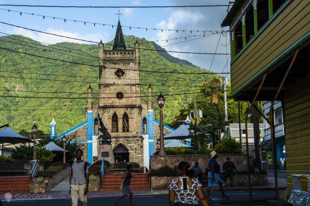 Igreja da Assumpção, Soufrière, Saint Lucia