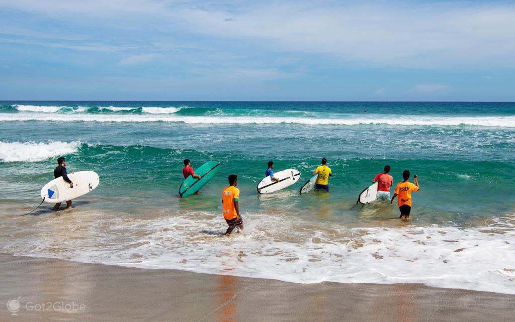 Aula de surf, Playa El Encuentro, Puerto Plata, República Dominicana
