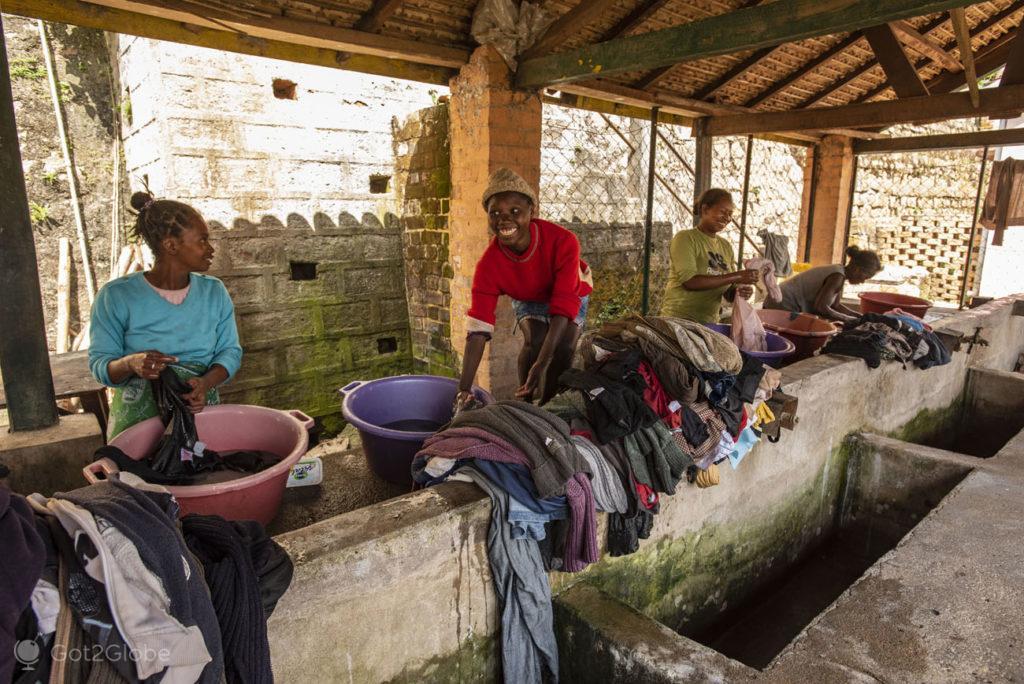 Lavadouro, Rova, Fianarantsoa, Madagascar