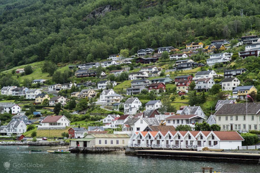 Povoação, Sognefjord, Noruega