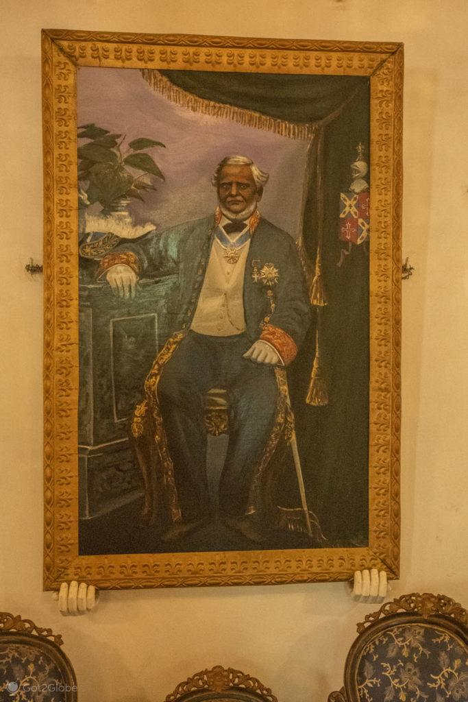 Francisco Xavier Bragança, Casa Menezes Bragança, Chandor, Goa, India