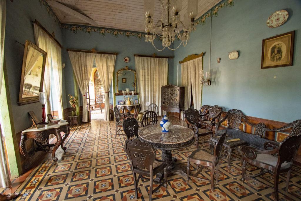 Salão, Casa Menezes Bragança-Chandor-Goa-India