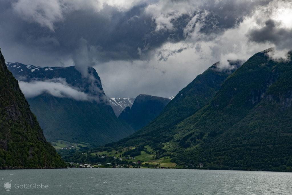 Braço do Sognefjord-Noruega