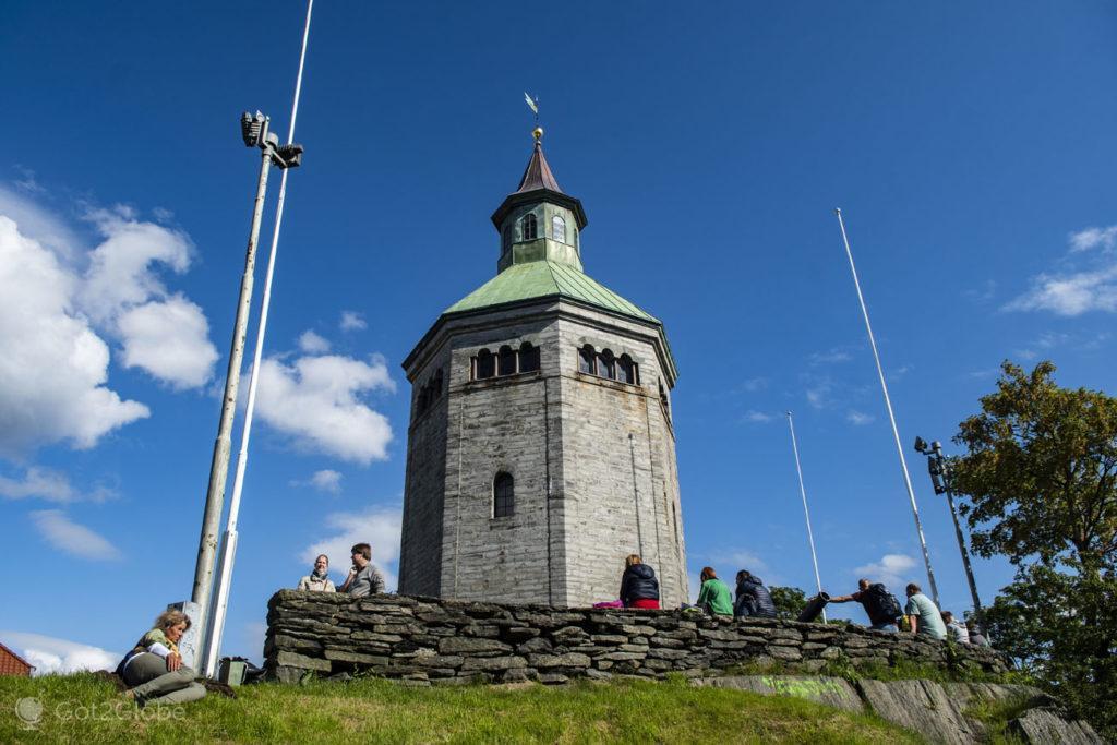 Torre de Valbergtarnet, Stavanger, Noruega