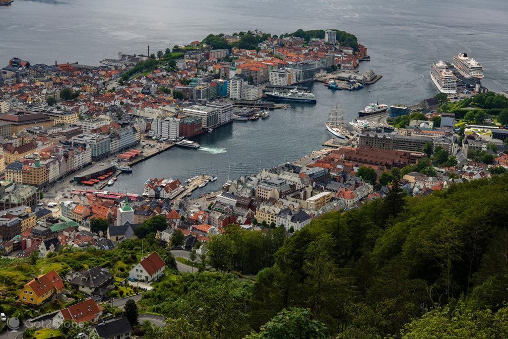 Bergen no Mar do Norte, Noruega
