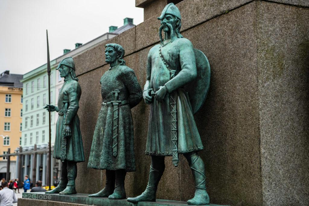 Monumento ao Marinheiro, Bergen, Noruega