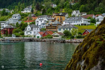 Casario de Balestrand, Noruega