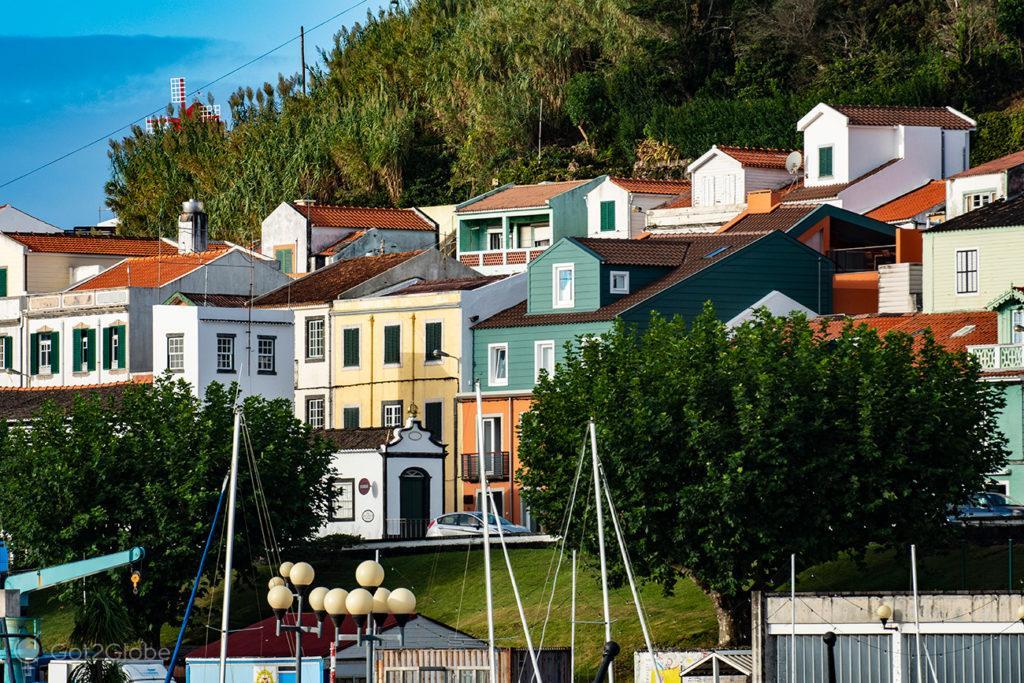 Casario, Horta, Faial, Cidade que dá o Norte ao Atlântico